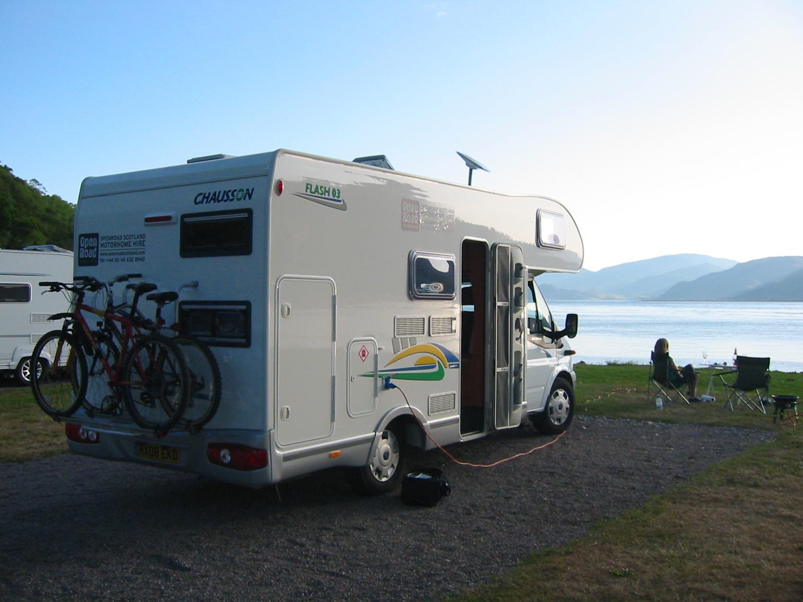 Lastest Motorhome Rental Scotland  Scottish Tourer Motorhome Blog