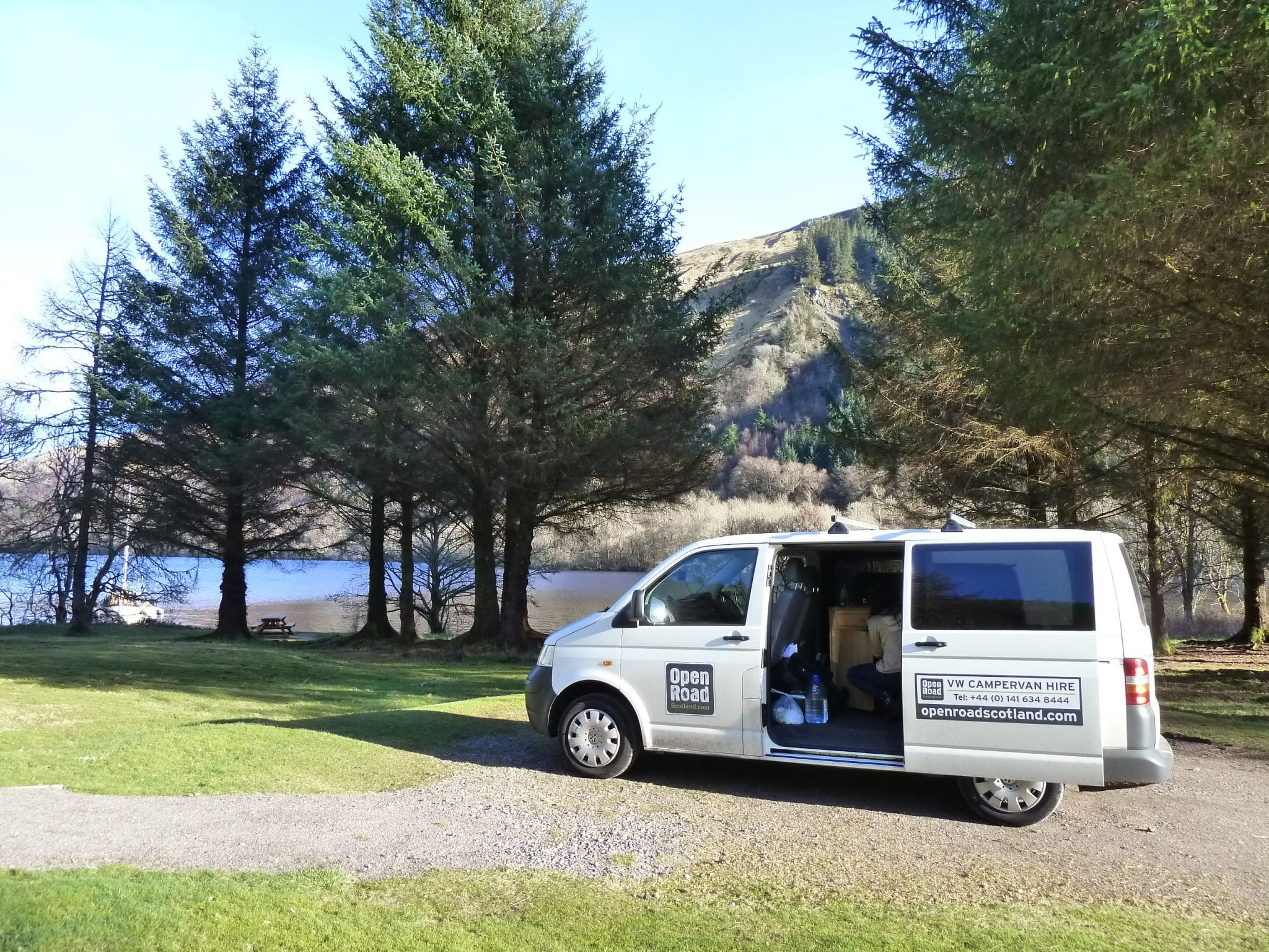 Unique  Scotland In Motorhome Hired From Lowland Motorhome Hire With My