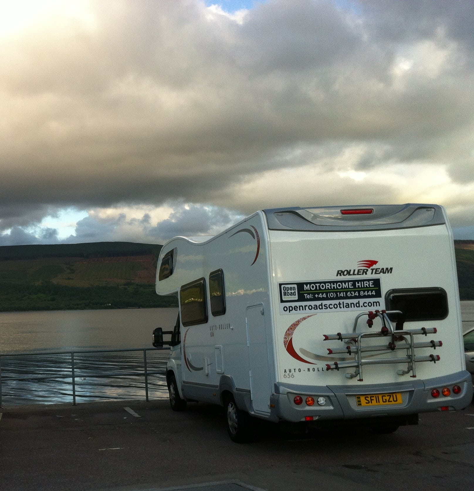 Fantastic Pitlochry Motorhome Hire 4 Berth Holiday Cottage
