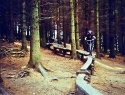 Mountain biking at Glentress. Pic credit: www.flickr.com/photos/richardchild/