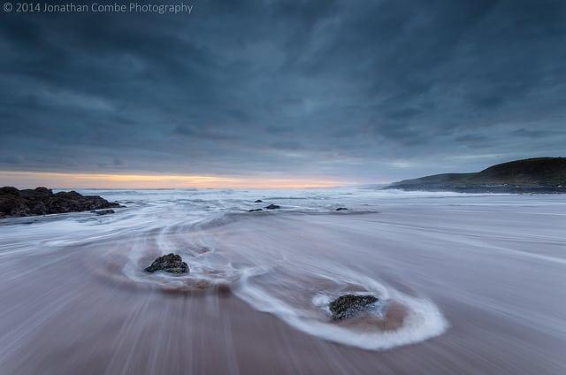 Coldingham Sands. Pic credit: Jonathon Combes