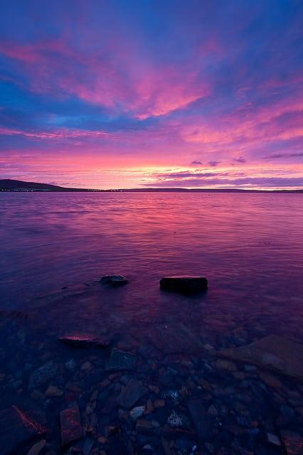 Orkney Sunset Pic credit: Domenico Salvagnin