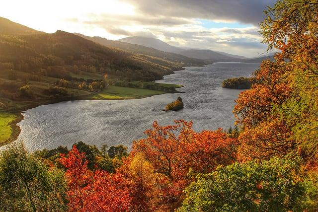 Loch Tummel. Pic credit: Jacob Martin on Flickr