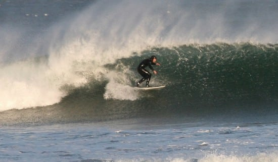 Scottish surfing. Pic credit: Graham Robertson.