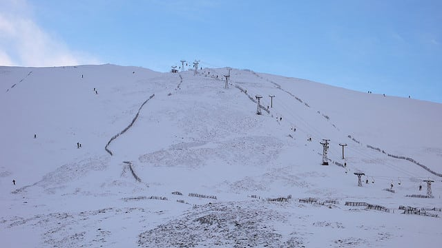 Glenshee ski resort. Pic credit Cardinal Biggles on Flickr.