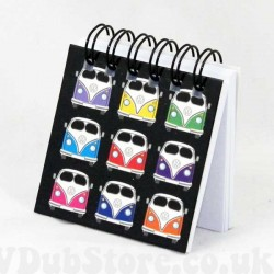 A great stocking filler Magnetic Camper Notebook. £2.50 from the VDub Store