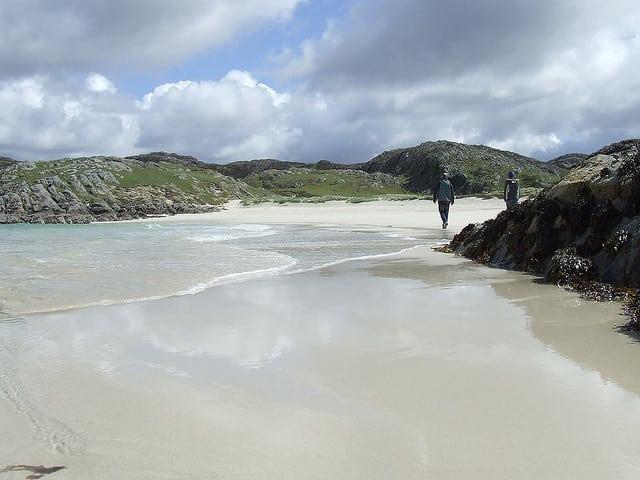 Achmelvich beach. Pic credit: Flickr Murray Barnes