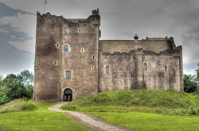 Doune Castle. Pic credit: Alasdair on Flickr Creative Commons.
