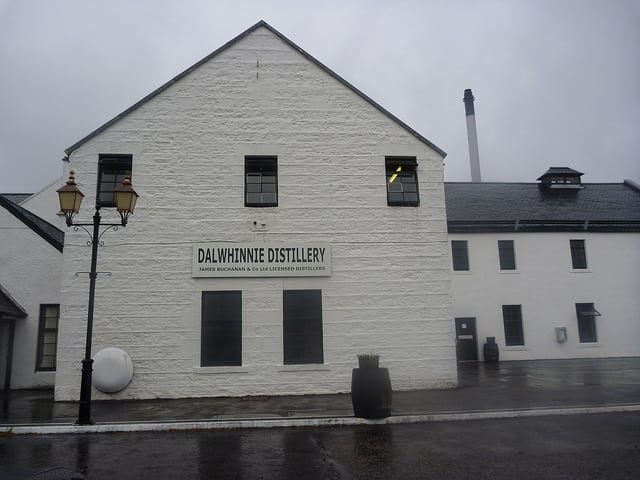 Dalwhinnie whisky distillery. Pic credit: Rebecca Siegel on Flickr