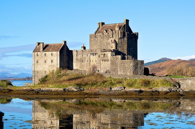 Eilean Donan Castle. Pic credit: Miguel Orte on Flickr Creative Commons.