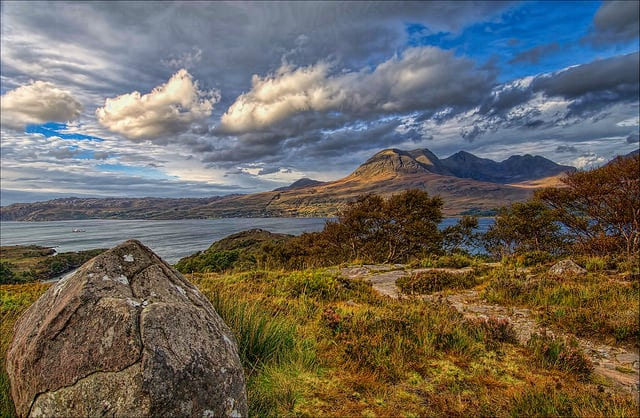 Loch Torridon. Pic credit: Oliver Clarke on Flickr Creative Commons.