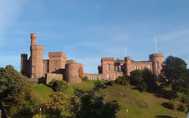 Inverness Castle. Pic credit: Dave Conner on Flickr Creative Commons