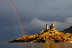 Kyleakin Castle, Skye. PIc credit: Oliver Clarke on Flickr