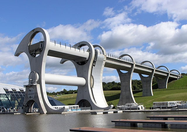 Falkirk Wheel. Pic credit Sean Mack
