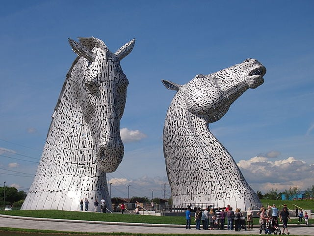 The Kelpies. Pic credit: Beninjam200