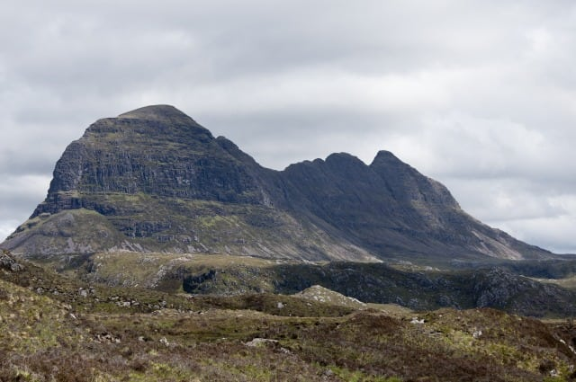 Suilven. Pic by Paul Hermans Creative Commons