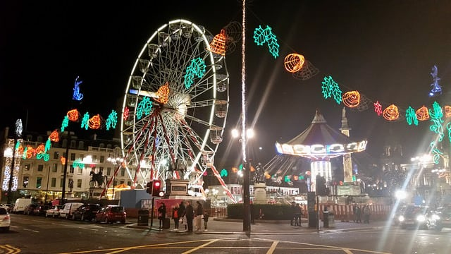 George Square, Glasgow Loves Christmas. Pic credit: Michel Curi, Creative Commons.