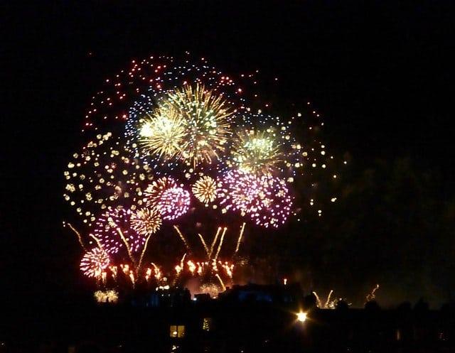Hogmanay fireworks. Pic credit: Kim Traynor, Creative Commons.
