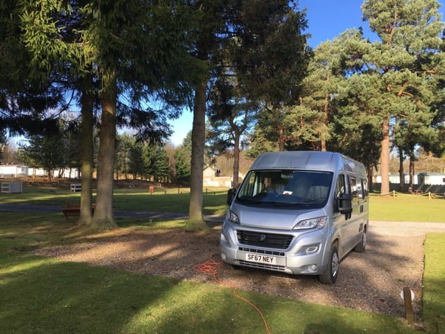 Campervan holiday Scotland