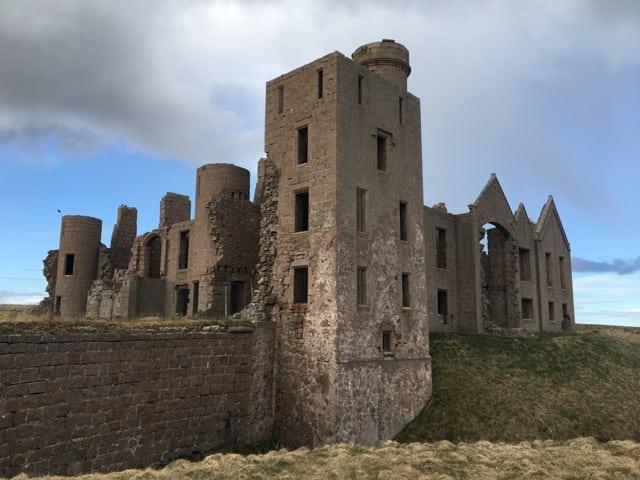 Slains Castle NE250