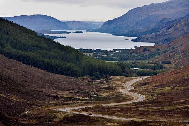 Kinlochewe and Loch Maree.