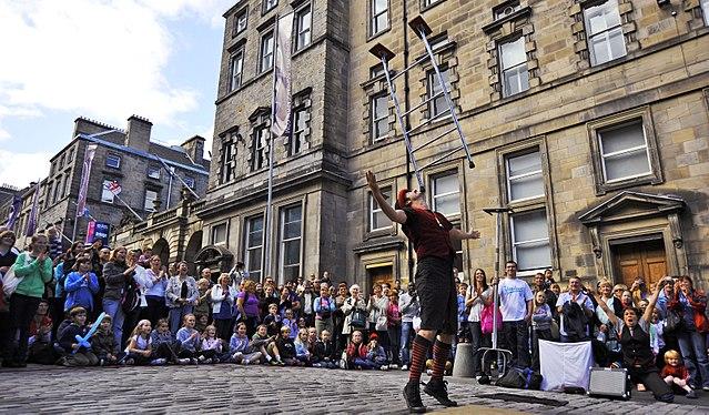 Festival Fringe Society street act