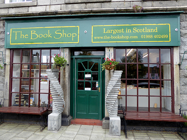 the book shop wigtown credit: Oliver Dixon