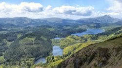 Loch Ard and the forests of the Trossachs. Credit: J McSporran.