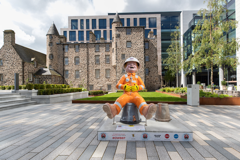 An Oor Wullie in Dundee. Credit Chris Scott Photography