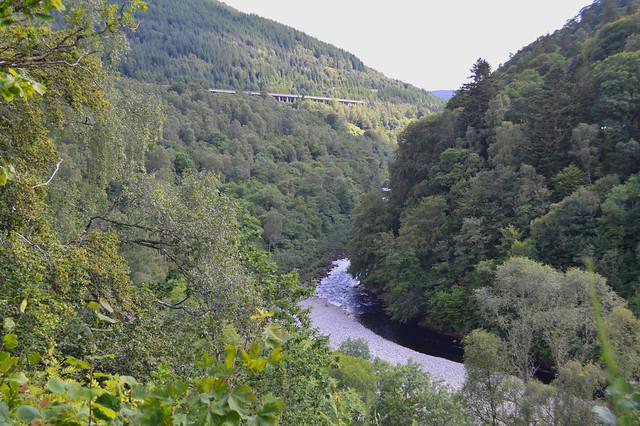 River Garry Soldiers Leap Killiecrankie, SR Photies