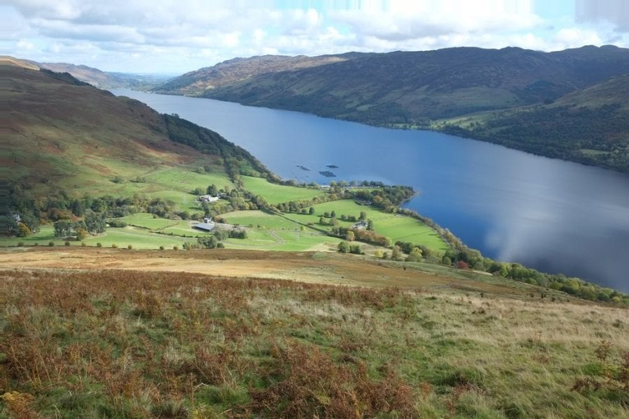 Views over Loch Earn. Credit: Anthony O'Neil