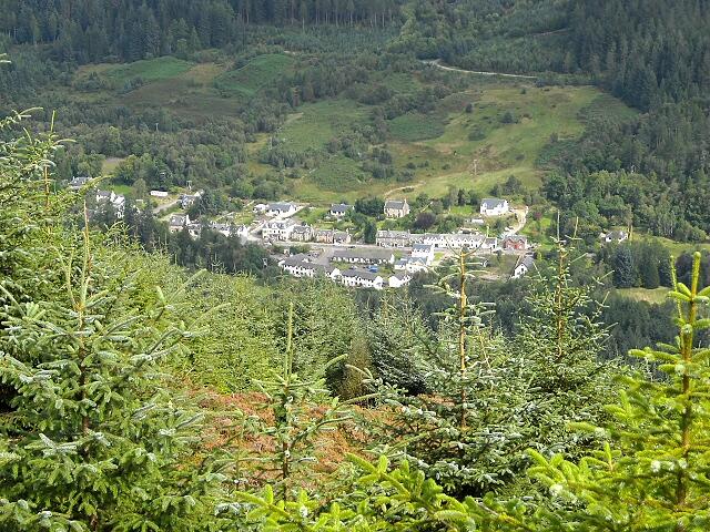 strathyre village Iain Thompson