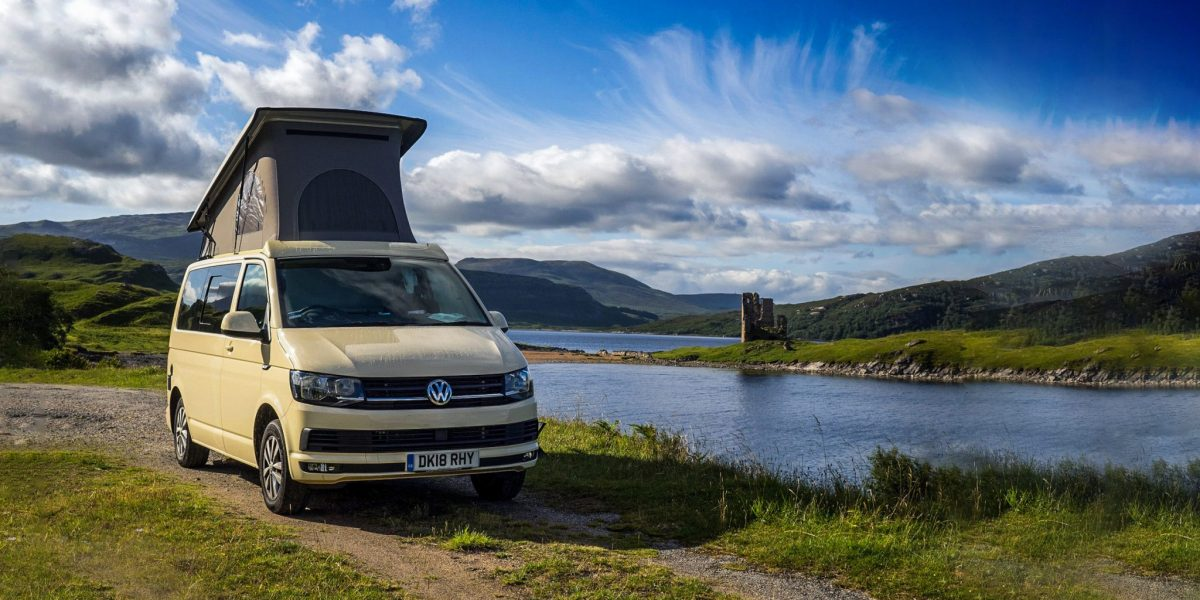 We provide Campervans hire throughout Scotland from our base at Glasgow Airport - we also serve Edinburgh and Prestwick Airports. Our Campervans can accommodate up to 7 berths and are amazingly well equipped; perfect for your campervans holiday in Scotland.