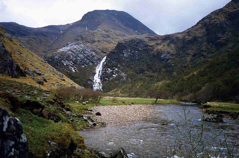Steall Waterfall. Credit: Mick Knapton