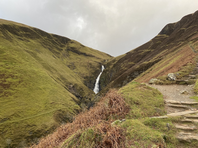 Grey Mare's Tail. Credit: FionaOutdoors